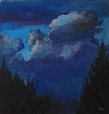 """A Dream Before Sleep"" original fine art by Nicki Ault"