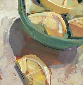 """#983 Wedges"" original fine art by Lisa Daria"