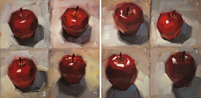 """the 10-minute challenge!"" original fine art by Carol Marine"