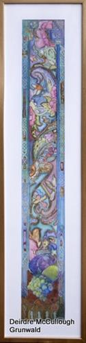 """Tree of Life (Series)"" original fine art by Deirdre McCullough Grunwald"