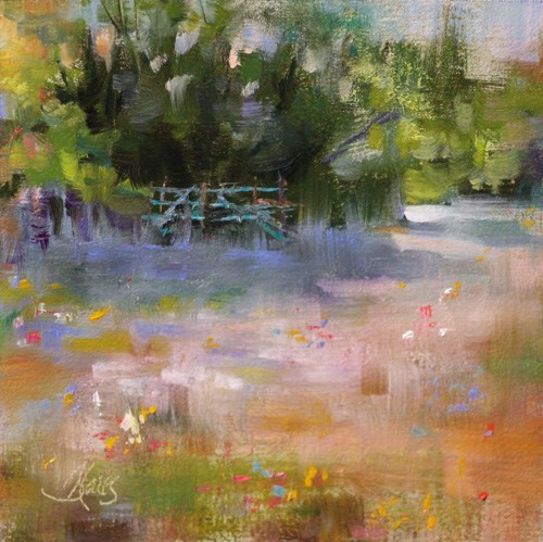 """Quiet Pasture"" original fine art by Pamela Blaies"