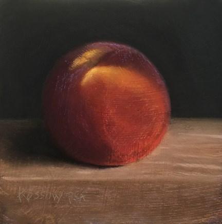"""Peach II"" original fine art by Cristine Kossow"