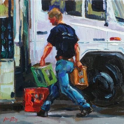 """supplier"" original fine art by Jurij Frey"
