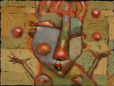 """Lovely Rita Had Curious Talents"" original fine art by Brenda York"
