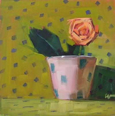"""""""Howdy"""" original fine art by Carol Marine"""