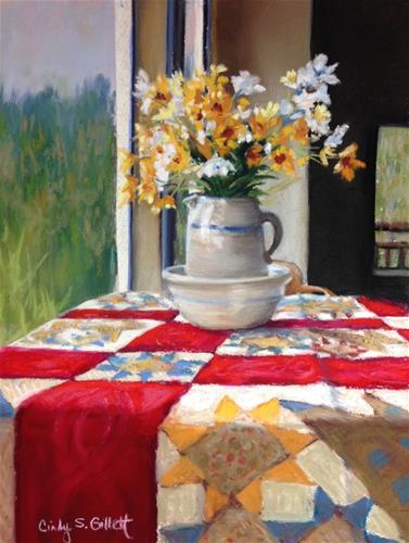 """A Glorious Morning"" original fine art by Cindy Gillett"