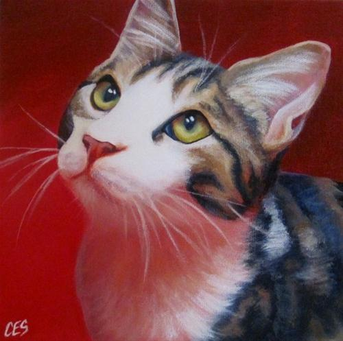 """Do You Love Me?"" original fine art by ~ces~ Christine E. S. Code"