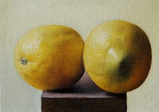 """Lemons"" original fine art by Jonathan Aller"