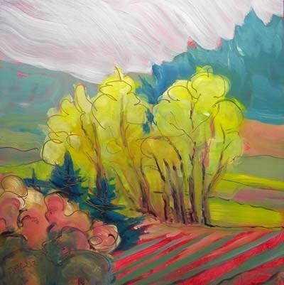 """Turner, Oregon"" original fine art by Pam Van Londen"