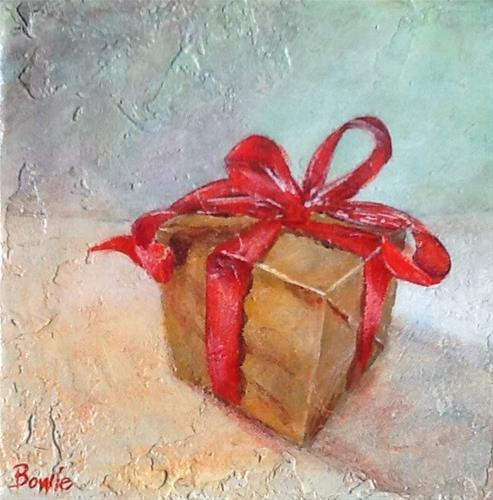 """A Secret Wish"" original fine art by Maureen Bowie"