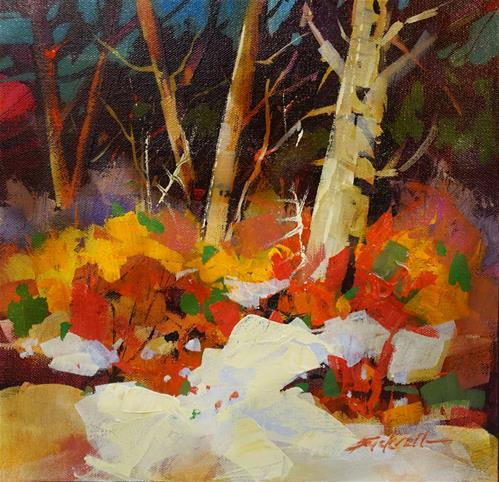 """First Colours of Spring"" original fine art by Brian Buckrell"