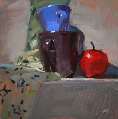 """Dazzled by Light"" original fine art by Carol Marine"