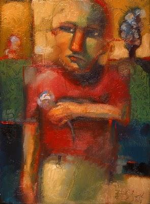 """Between Two Places"" original fine art by Brenda York"