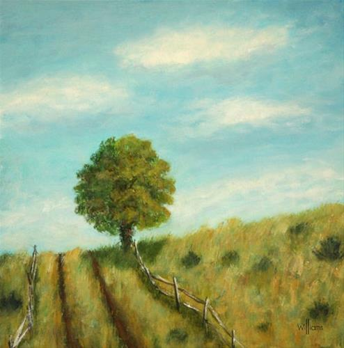 """Mightly Oak"" original fine art by Sunny Williams"