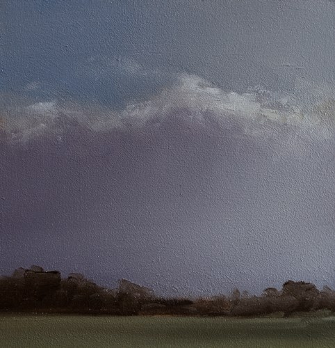 """Violet Sky"" original fine art by Neil Carroll"