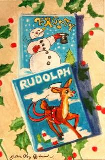 """Christmas Story"" original fine art by JoAnne Perez Robinson"