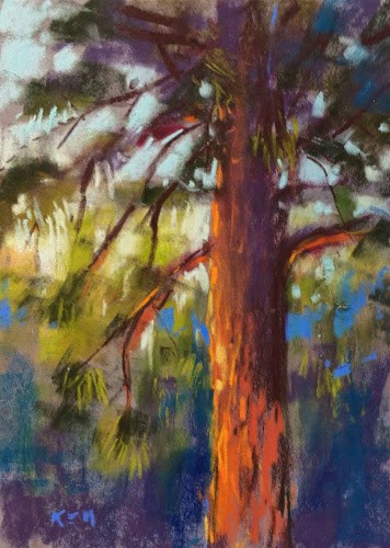 """Tahoe Workshop Report Day 3"" original fine art by Karen Margulis"