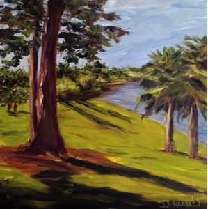 """Sunday in the 'Glades'"" original fine art by Debra Kennedy"