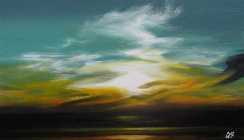 """Wisps"" original fine art by ~ces~ Christine E. S. Code"