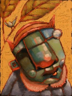 """""""Tattletale"""" original fine art by Brenda York"""