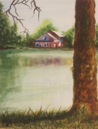 """Wine Country"" original fine art by Juan Velasquez"