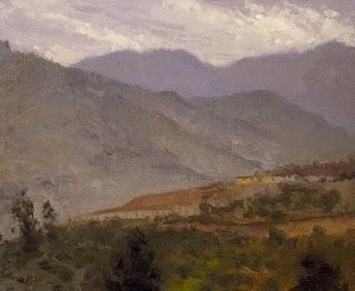 """Santiago, Chile"" original fine art by Abbey Ryan"