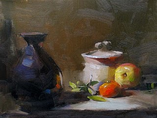 """Demo at Magnolia 1 --- Sold"" original fine art by Qiang Huang"
