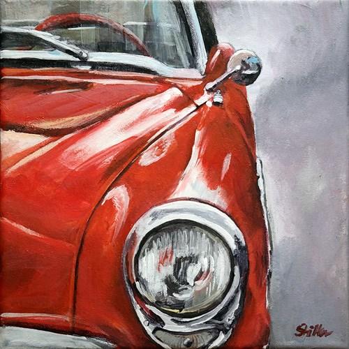 """1631 Buick Roadmaster '55"" original fine art by Dietmar Stiller"