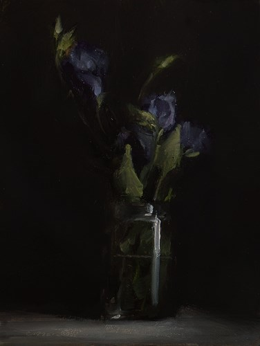 """Flowers in Glass"" original fine art by Neil Carroll"
