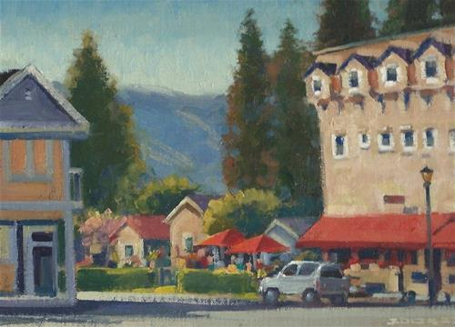 """Hotel Sonoma"" original fine art by J. Thomas soltesz"