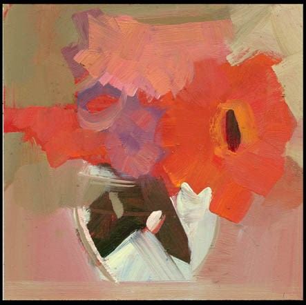 """""""2467 four block"""" original fine art by Lisa Daria"""