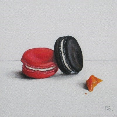 """The Black Macaroon III"" original fine art by Pera Schillings"