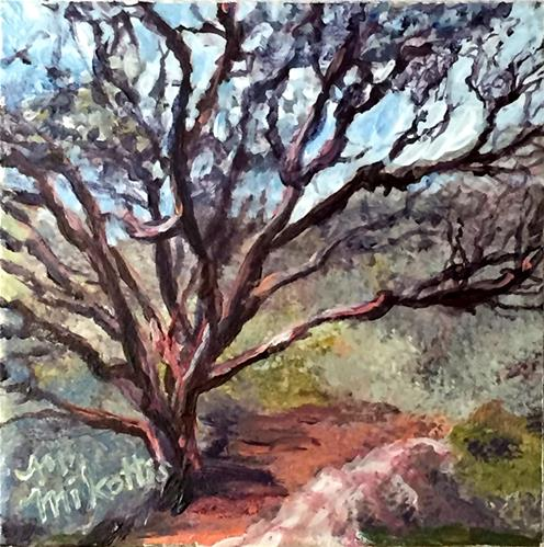 """Ecuador Memories: Polylepis Tree"" original fine art by Michael Mikottis"