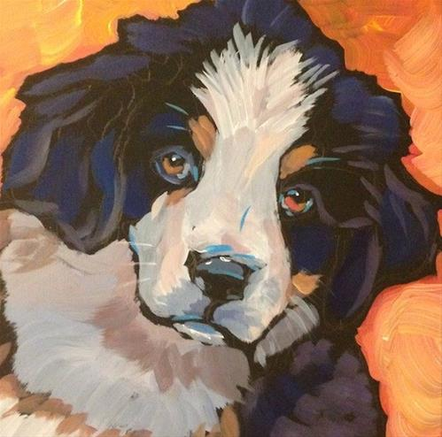 """July 28, Handsome Harry"" original fine art by Kat Corrigan"