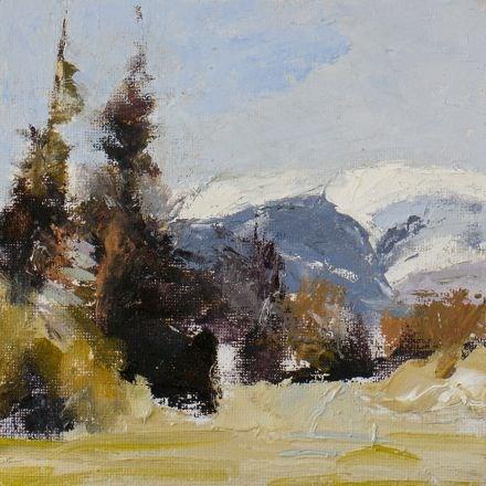 """NORTH CASCADES"" original fine art by Susan Hammer"