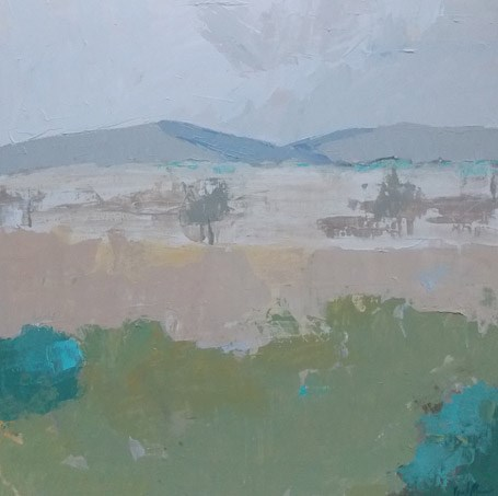 """Looking South"" original fine art by Pamela Munger"