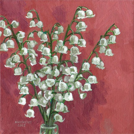 """Lilies Of The Valley No. 2"" original fine art by Randal Huiskens"