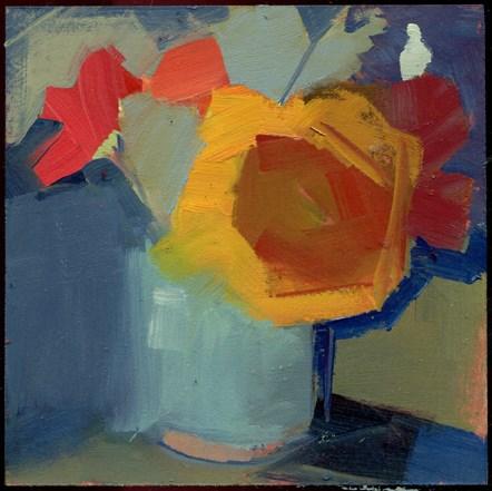 """2240 patchwork"" original fine art by Lisa Daria"