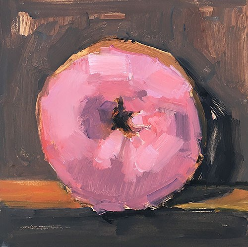 """Pink Donut"" original fine art by Kevin Inman"
