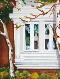 """On The Outside Looking In"" original fine art by JoAnne Perez Robinson"