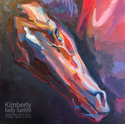 """Kentucky Derby Week - Title This Painting!"" original fine art by Kimberly Santini"