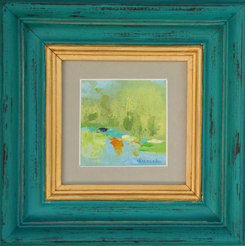 """Landscape 200b!"" original fine art by Ewa Kunicka"