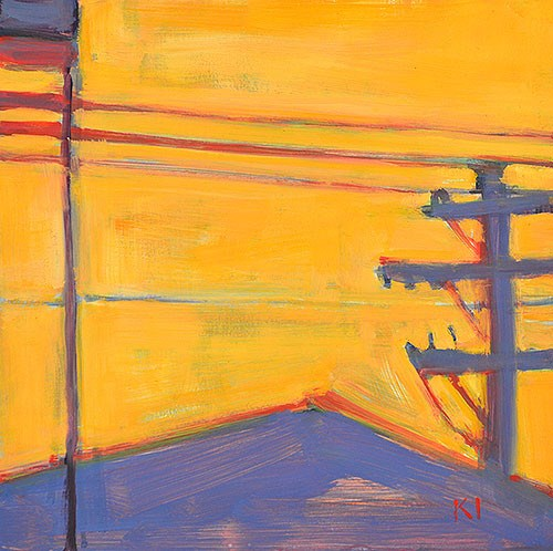 """Light at Lucy's"" original fine art by Kevin Inman"