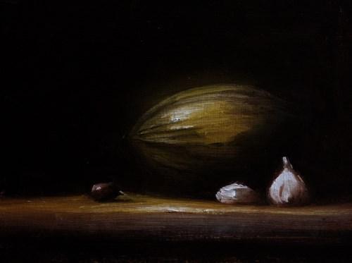 """Watermelon"" original fine art by Neil Carroll"