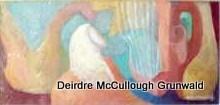 """""""Harpbeat"""" original fine art by Deirdre McCullough Grunwald"""
