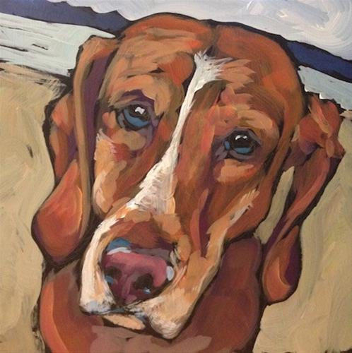 """Juno, A Commission"" original fine art by Kat Corrigan"