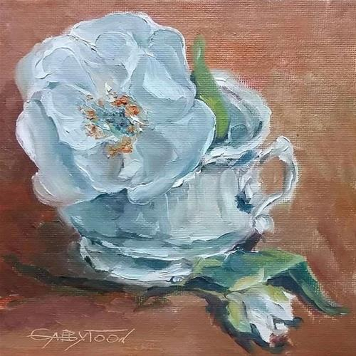 """Still Life"" original fine art by Gabriella DeLamater"