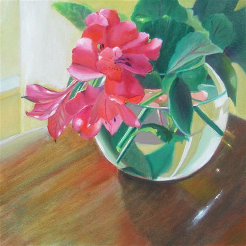 """Warmth"" original fine art by Linda McCoy"
