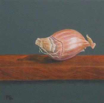 """Shallot"" original fine art by Pera Schillings"