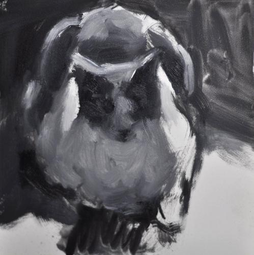 """Value Study in Grays 2"" original fine art by Sharon Savitz"